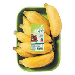 Banana Prata Orgânica Carrefour Viver 600 g