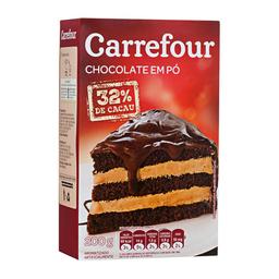 Chocolate Em Pó 32% Cacau Carrefour 200 g