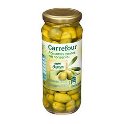 Azeitona Verde Com Caroço Carrefour 320 g