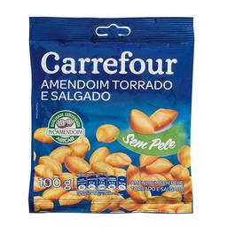 Amendoim Sem Pele Salgado Carrefour 100 g