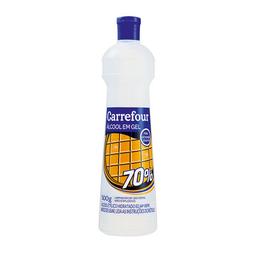 Álcool Em Gel Carrefour Tradicional 70% 500 g