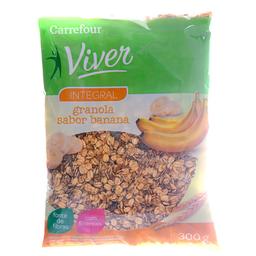 Granola Com Banana Carrefour Viver 300 g
