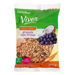 Granola Com Frutas Carrefour Viver 300 g
