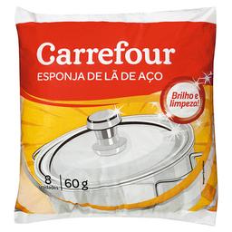 Lã De Aço Carrefour 60 g 8 Und