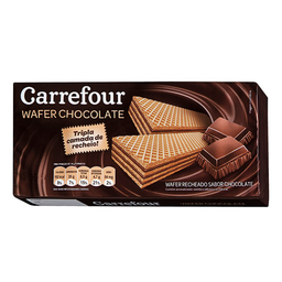 Wafer Chocolate Carrefour Triplo 165G