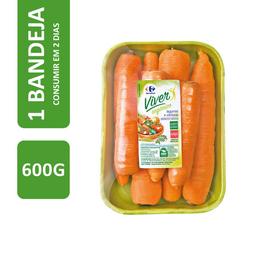 Cenoura Orgânica Carrefour Viver 600 g