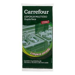 Esponja Multiuso Carrefour 3 Unidades