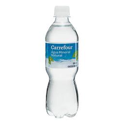 Água Mineral Sem Gás Carrefour 510 mL