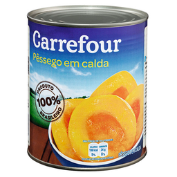 Pêssego Em Calda Carrefour 450 g
