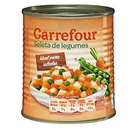 Mix De Legumes Carrefour 300 g
