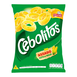 Salgadinho Cebolitos Elma Chips 60 g