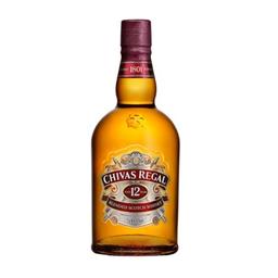 Whisky Chivas Regal Escocês 12 Anos 750 mL