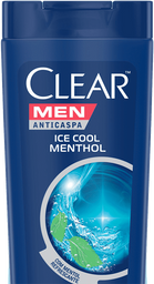 Shampoo Anticaspa Clear Men Ice Cool Mentol 400 mL