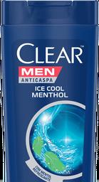 Shampoo Anticaspa Clear Men Ice Cool Mentol 400 mL
