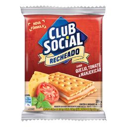 Biscoito Recheado Queijo E Tomate Club Social 106G
