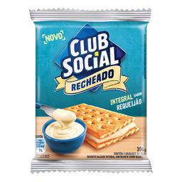 Biscoito Recheado De Requeijão Club Social 106G