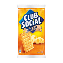 Biscoito De Queijo Club Social 141G