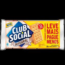 Biscoito Integral Club Social 288G