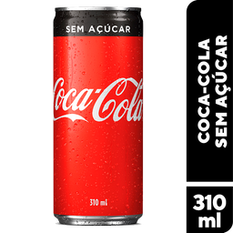 Coca Cola Sem Açúcar 310 mL