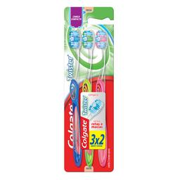 Escova Dental Colgate Twister c/ 3 Un. - Embalagem Promocional