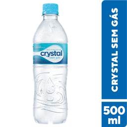 Água Mineral Sem Gás Crystal 500 mL