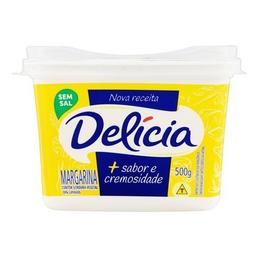 Margarina Cremosa Sem Sal Delícia 500 g