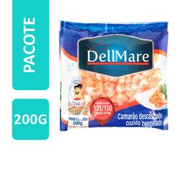 Camarão Cinza Pré-Cozido Sem Cabeça Congelado Dellmare 200 g