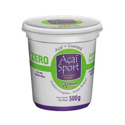 Açaí Com Guaraná Zero Açúcar Congelado De Marchi Sport 500 g