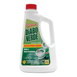 Soda Cáustica Líquido Diabo Verde 1L