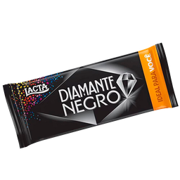 Chocolate DIAMANTE NEGRO Lacta 90 g