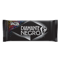 Chocolate DIAMANTE NEGRO Lacta 90 g