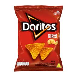Salgadinho Doritos Sabor Queijo Nacho Elma Chips 167G