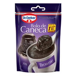 Mistura Para Bolo De Caneca Sabor Brownie Dr. Oetker 70 g
