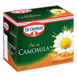 Chá Camomila Dr. Oetker Caixa Com 10 Sachês 10 g