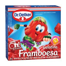 Gelatina Sabor Framboesa Dr. Oetker 20 g