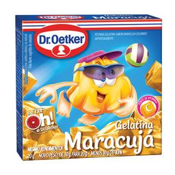 Gelatina Sabor Maracujá Dr. Oetker 20 g