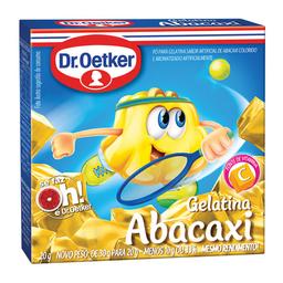 Gelatina Sabor Abacaxi Dr. Oetker 20 g