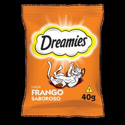 Petisco Dreamies Frango Para Gatos Adultos 40 g