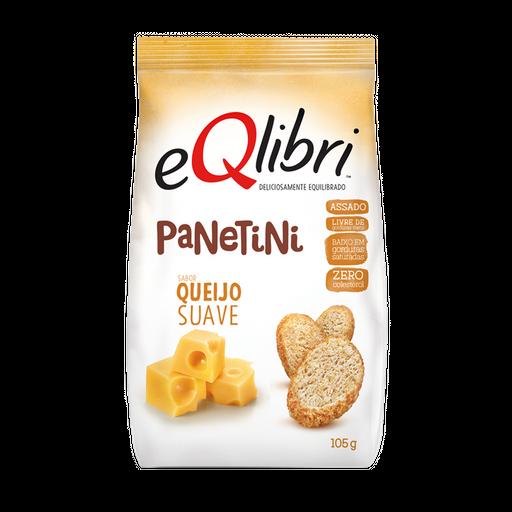 Snack Queijo Suave Eqlibri Panetini Pacote