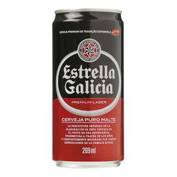 Cerveja Estrella Galicia Lager 269 mL
