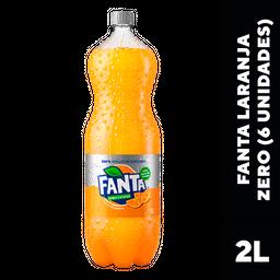 Refrigerante Fanta Laranja Sem Açucar 2L