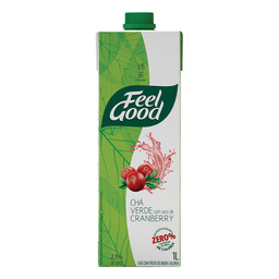 Chá De Cranberry Feel Good Caixa 1 L