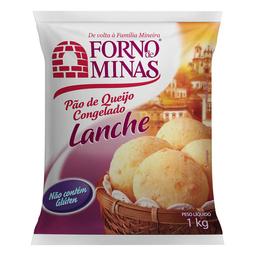Pão De Queijo Lanche Congelado Forno De Minas Com 29 Unidades