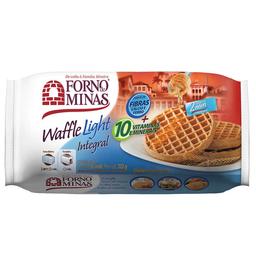 Waffle Integral Congelado Light Forno De Minas 222G