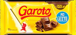 Barra De Chocolate Ao Leite Garoto 100 g