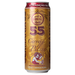 Cerveja Germânia Premium 55 Pilsen Standard Americ. Lager 710 mL