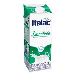 Leite Desnatado Uht Italac 1 Litro