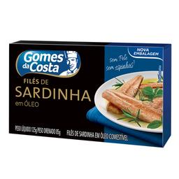 Filé De Sardinha Sem Espinha Gomes Da Costa Premium 125G