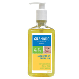 Sabonete Líquido Pump Infantil Granado Bebê Original 250 mL