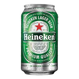 Cerveja Heineken Premium Pilsen Lager 350 mL